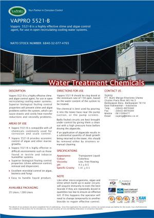 VAPPRO 5521 -B Slime and algae control